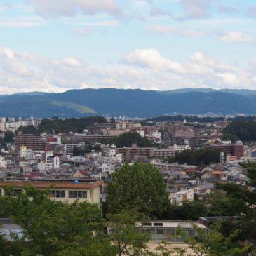 【富雄団地からの眺望風景】奈良市街地を一望する穴場スポット