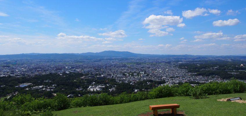 若草山一重目からの眺望