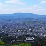 若草山二重目からの眺望