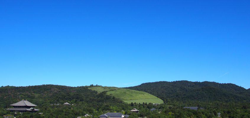 【奈良県庁屋上広場・展望室】「奈良を一望」する360度のパノラマが魅力の憩いの空間