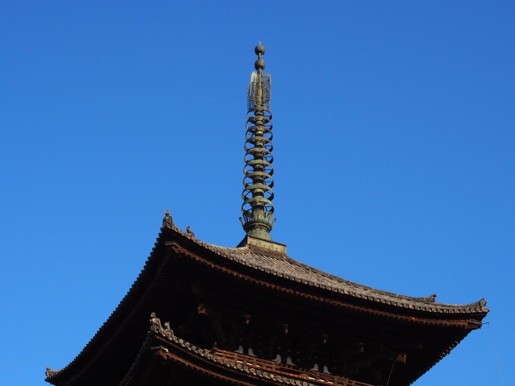 奈良・興福寺五重塔の「相輪」