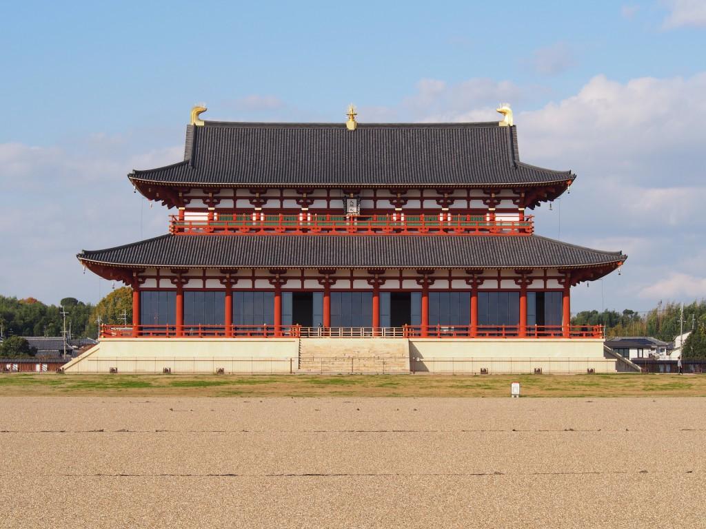 【第一次大極殿】現代に復原された奈良時代の巨大宮殿