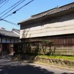 歌姫町の家並み