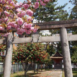 西大寺石落神社