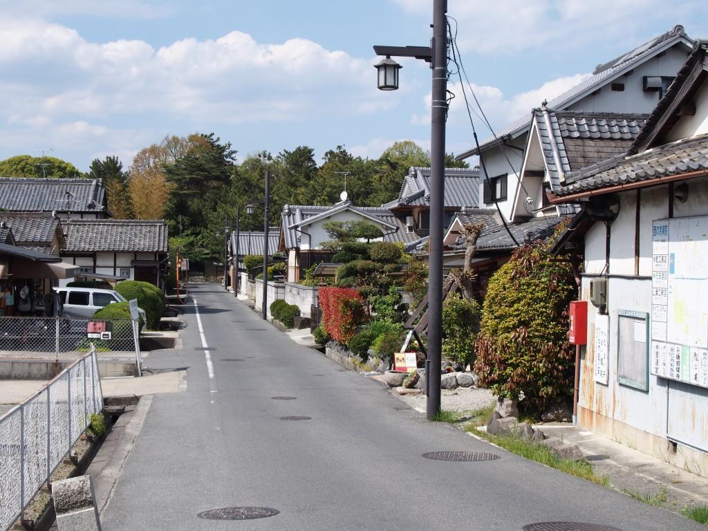 奈良市五条町の風景