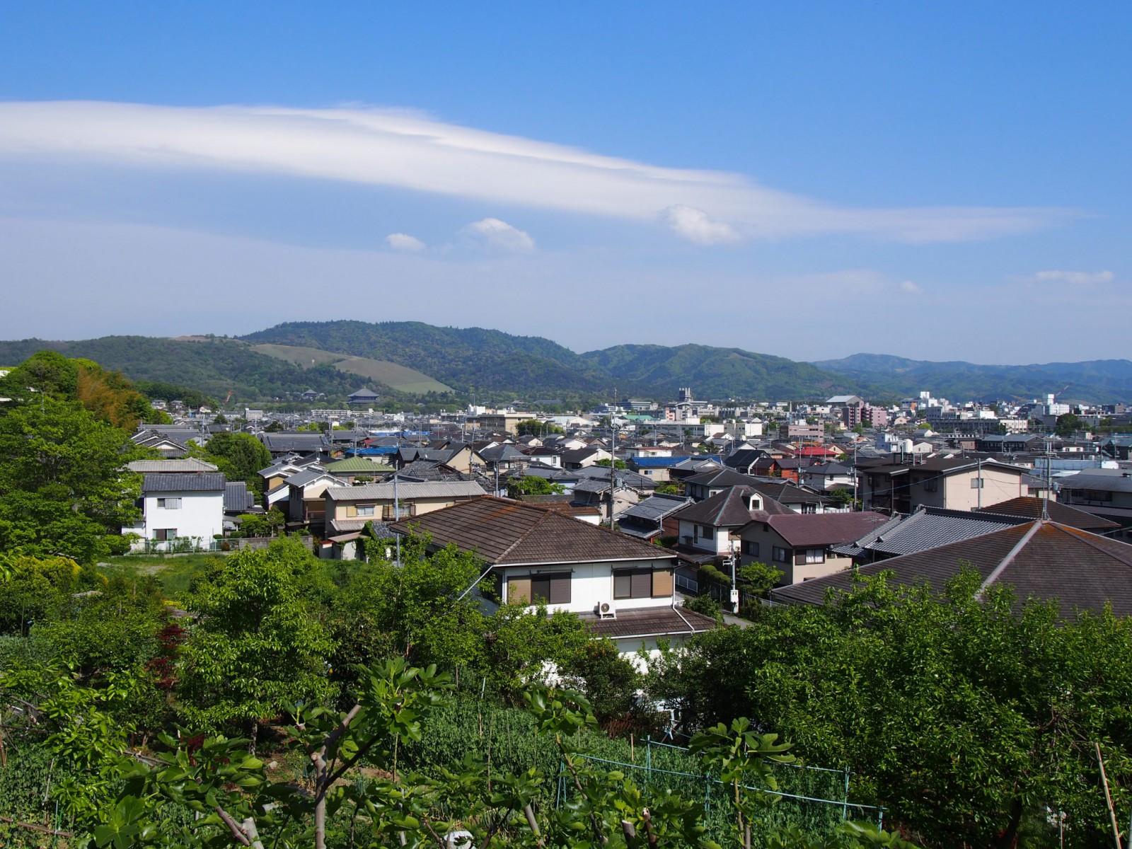 不退寺周辺(佐保山)からの眺望