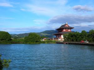 【奈良・佐紀路】大極殿と若草山を一望する「佐紀池」ってどんなところ?【季節の風景】