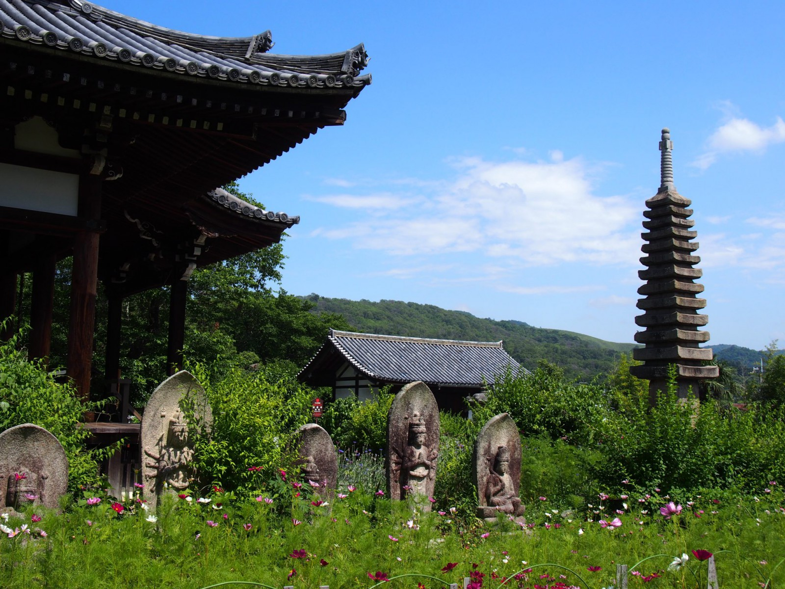般若寺の初夏