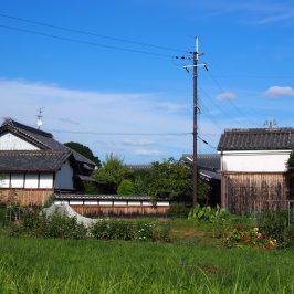 薬師寺周辺の農村風景
