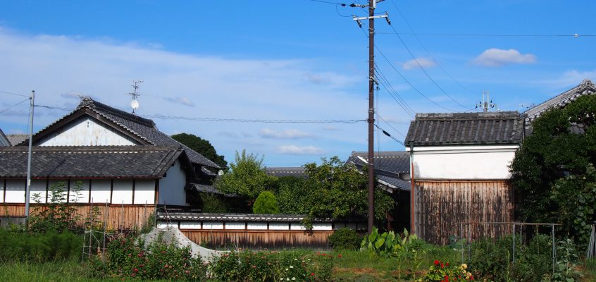 【西の京】世界遺産の隣の農村風景「薬師寺周辺の家並み・田園風景」を写真でご紹介!