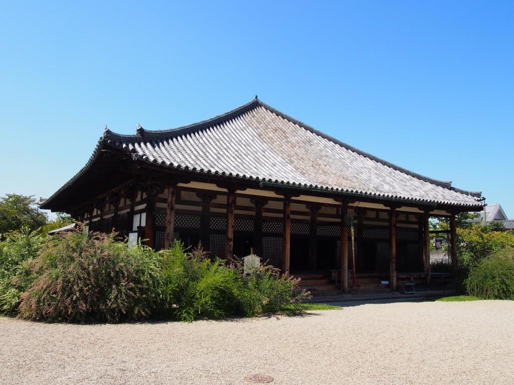 元興寺の「本堂」