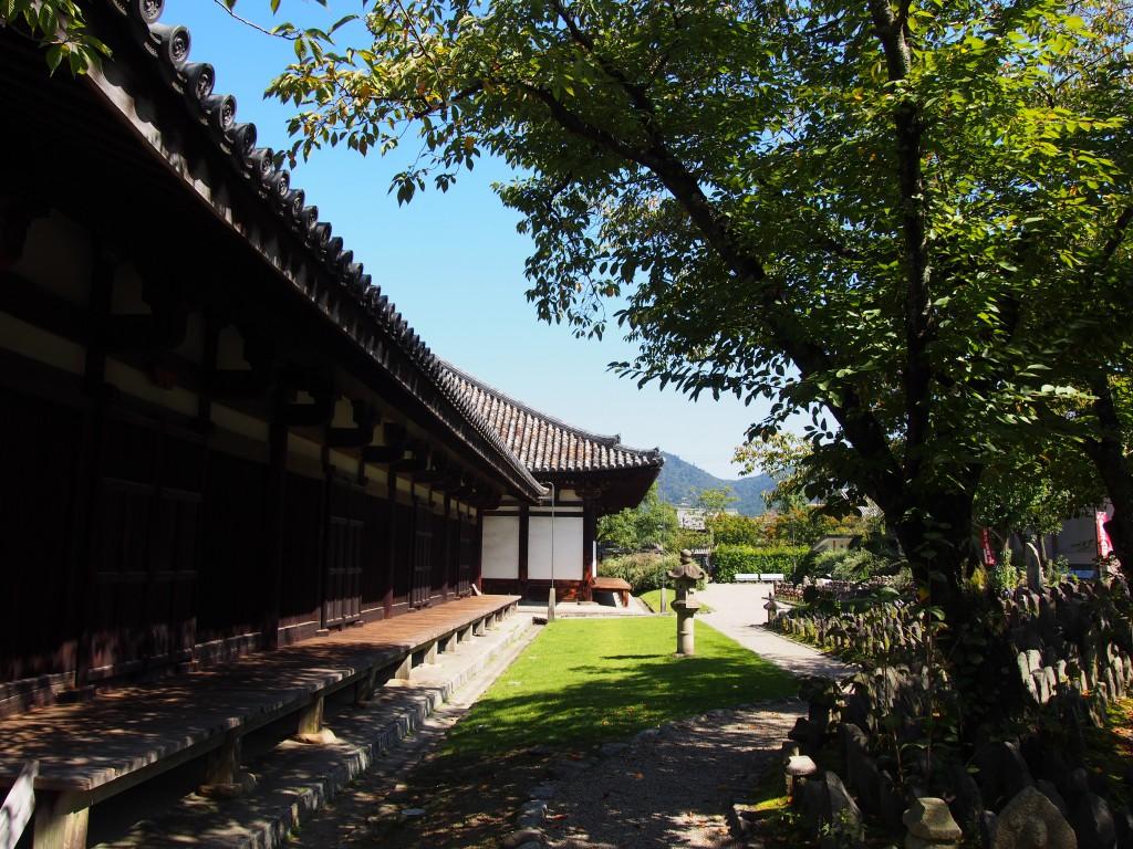 元興寺(世界遺産)の境内地