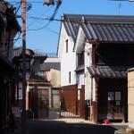 奈良町にぎわいの家・奈良町物語館付近の町並み