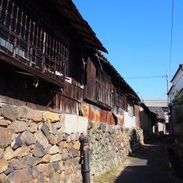 帯解(帯解寺周辺)の町並み