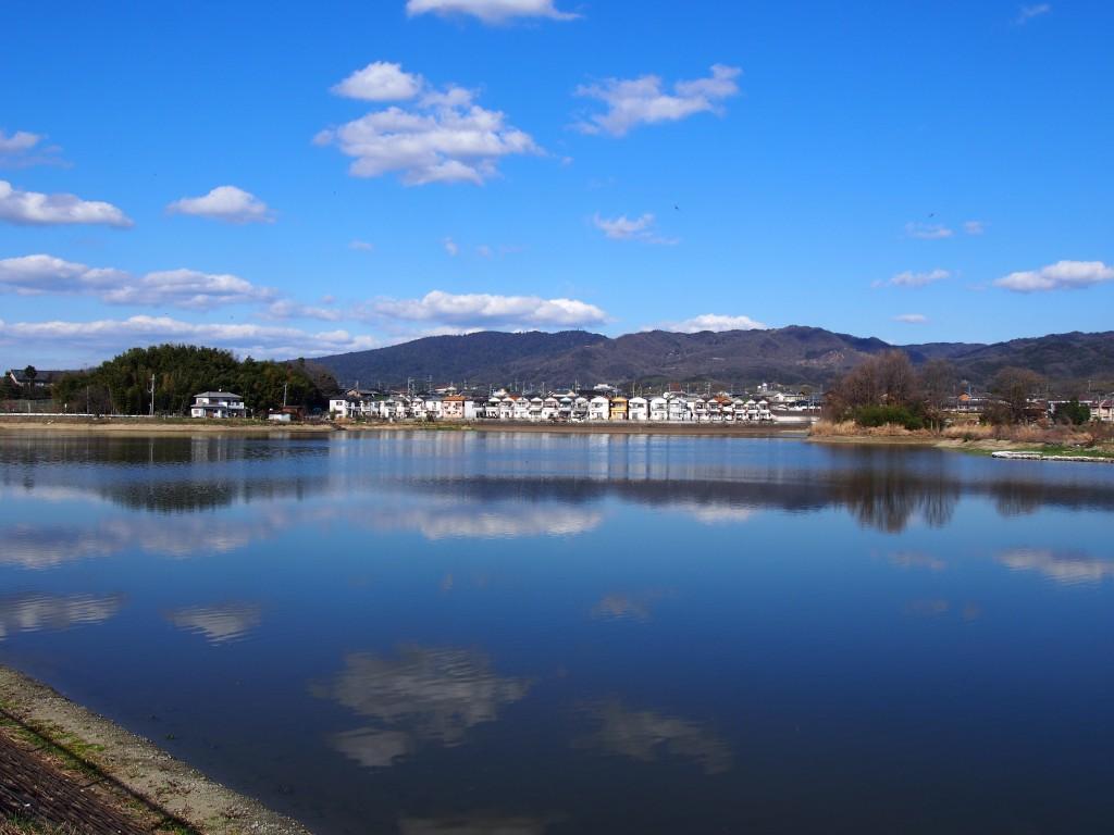 春先の広大寺池