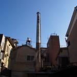 大西湯の煙突