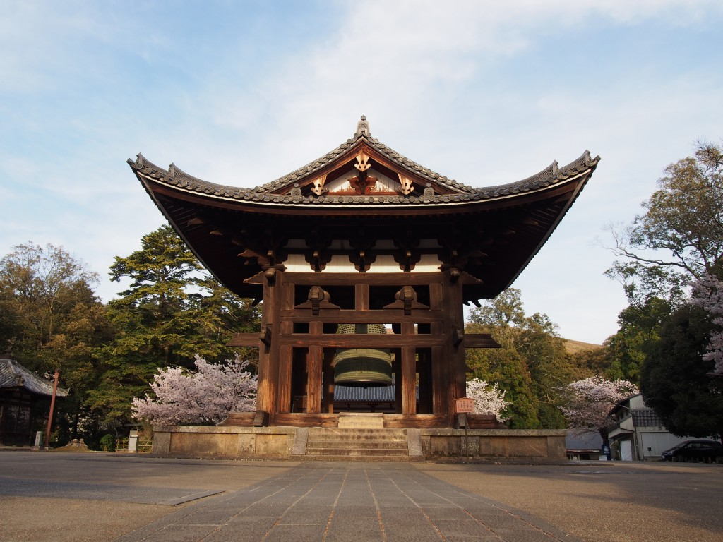 【東大寺鐘楼】「奈良太郎」とも呼ばれる日本三大名鐘の一つ