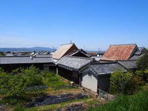 【山辺の道】奈良側の起点に広がる農村「鹿野園町の家並み・田園風景」を写真でご紹介!