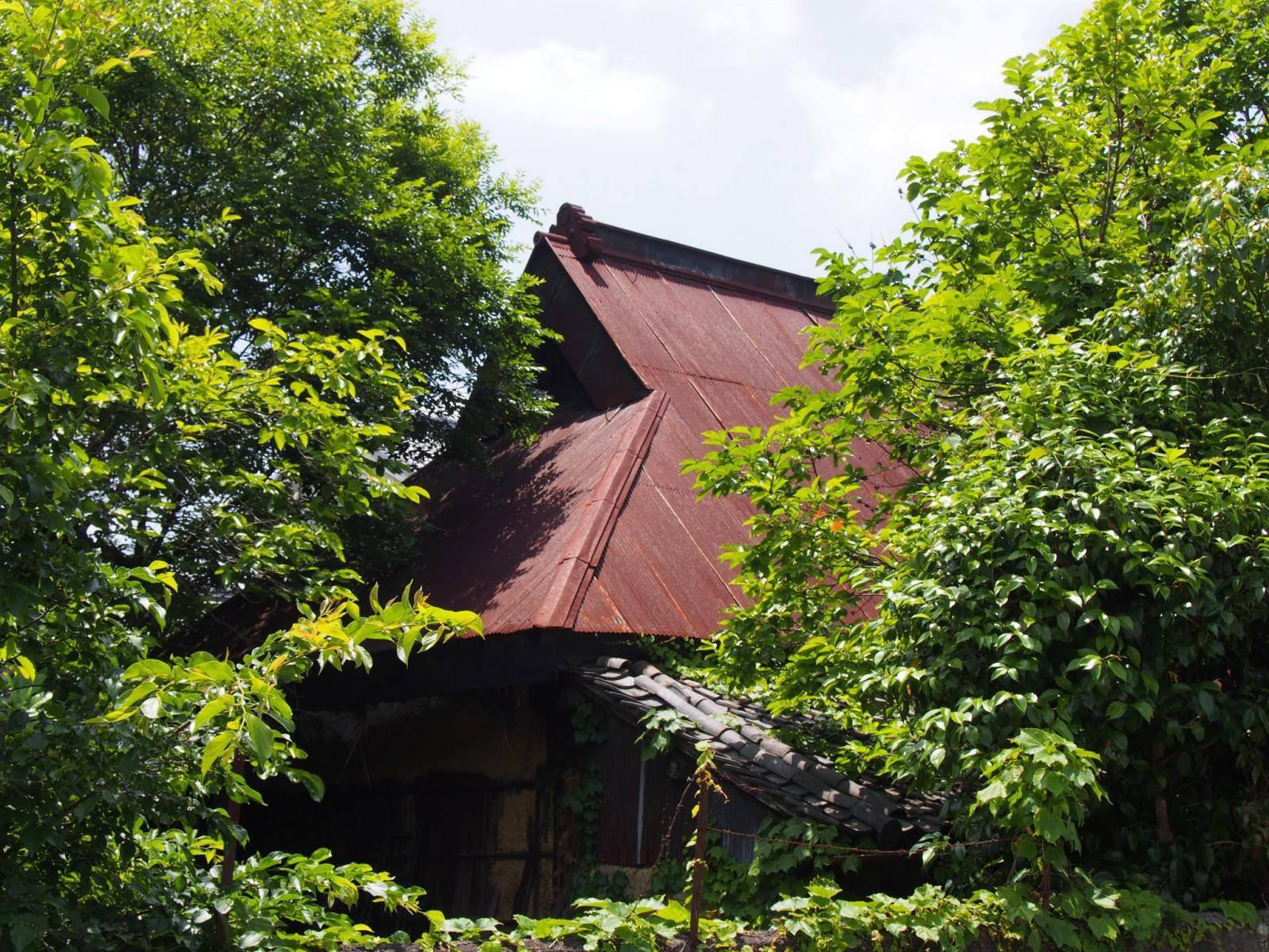 白毫寺町の歴史的家並み(農村風景)