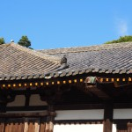 東大寺法華堂(三月堂)の屋根