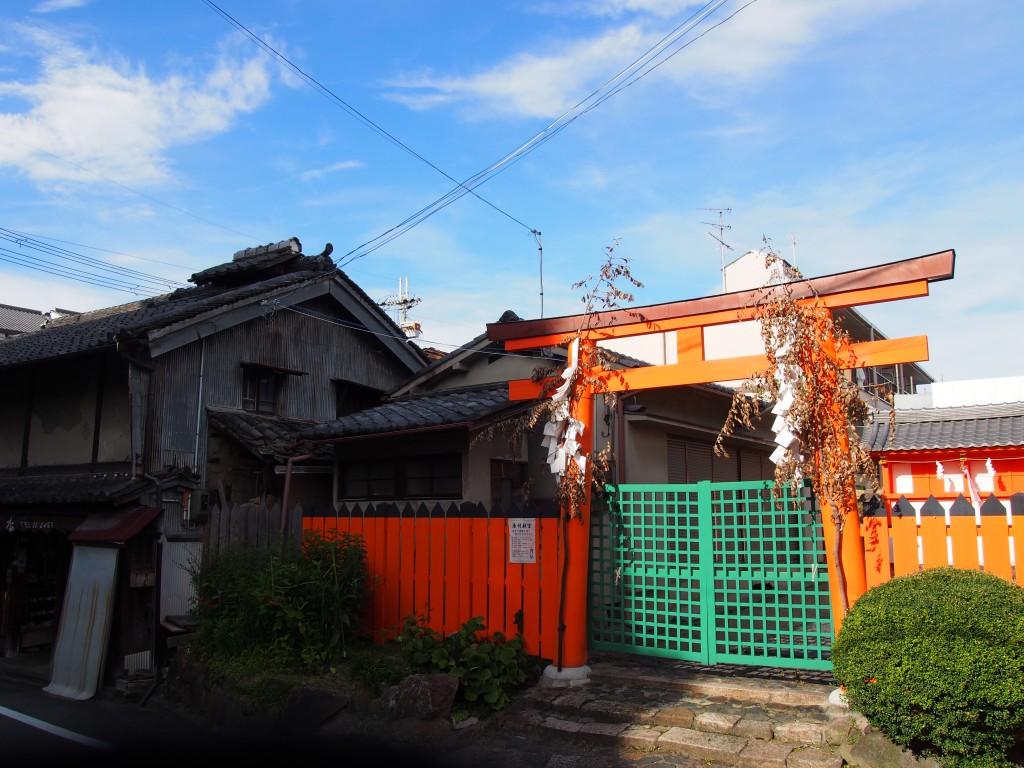 初宮神社周辺(奈良きたまち)