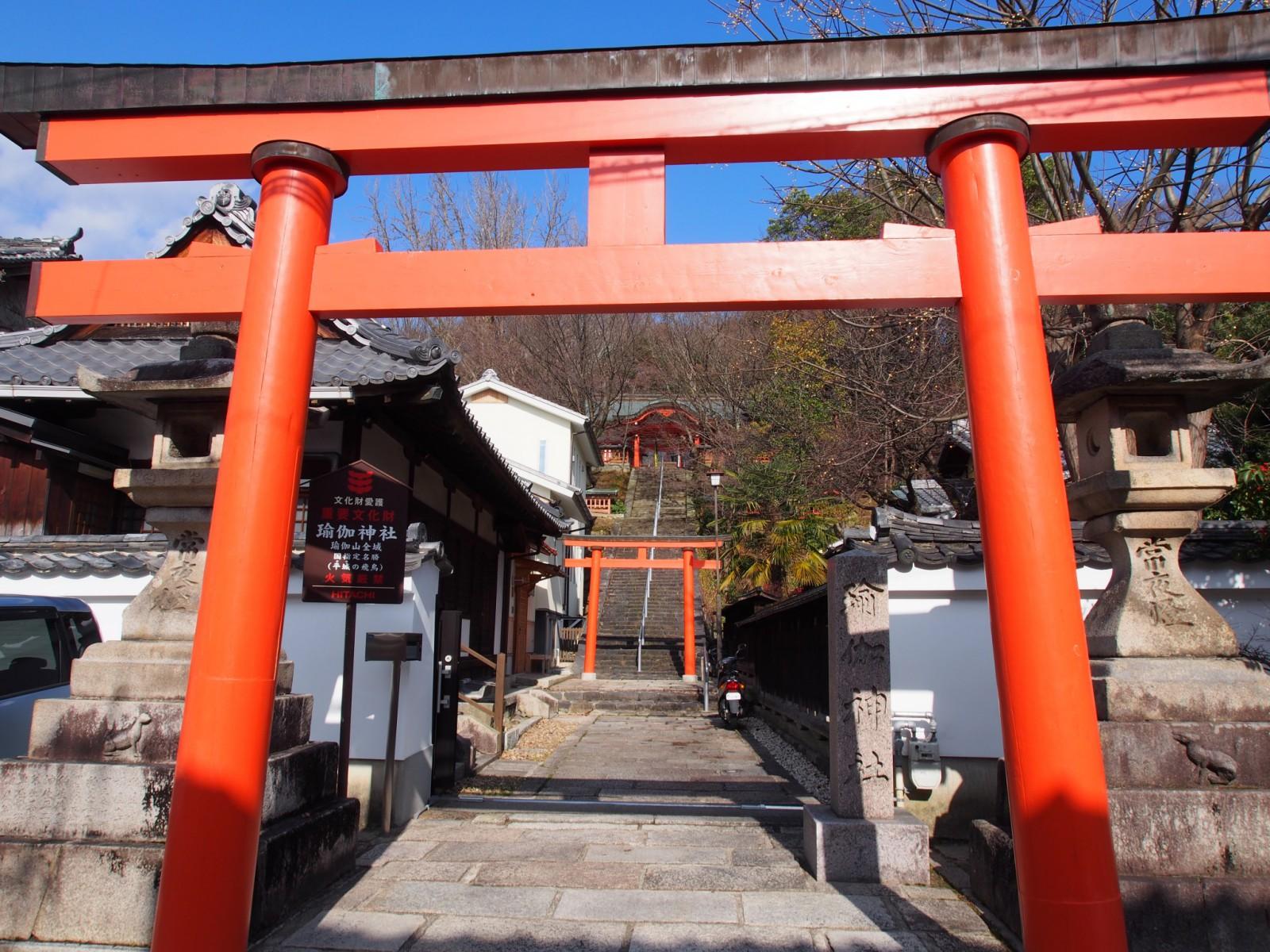 瑜伽神社(奈良市)