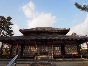 【西大寺】創建の由来となった四天王像を安置する「四王堂」ってどんなところ?【仏像】