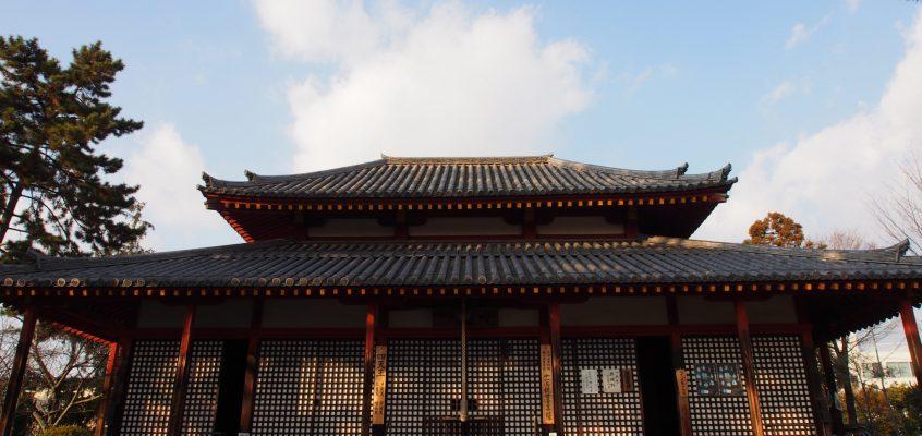 【西大寺四王堂】美麗な十一面観音立像がお祀りされる空間には創建時の「邪鬼」も残される