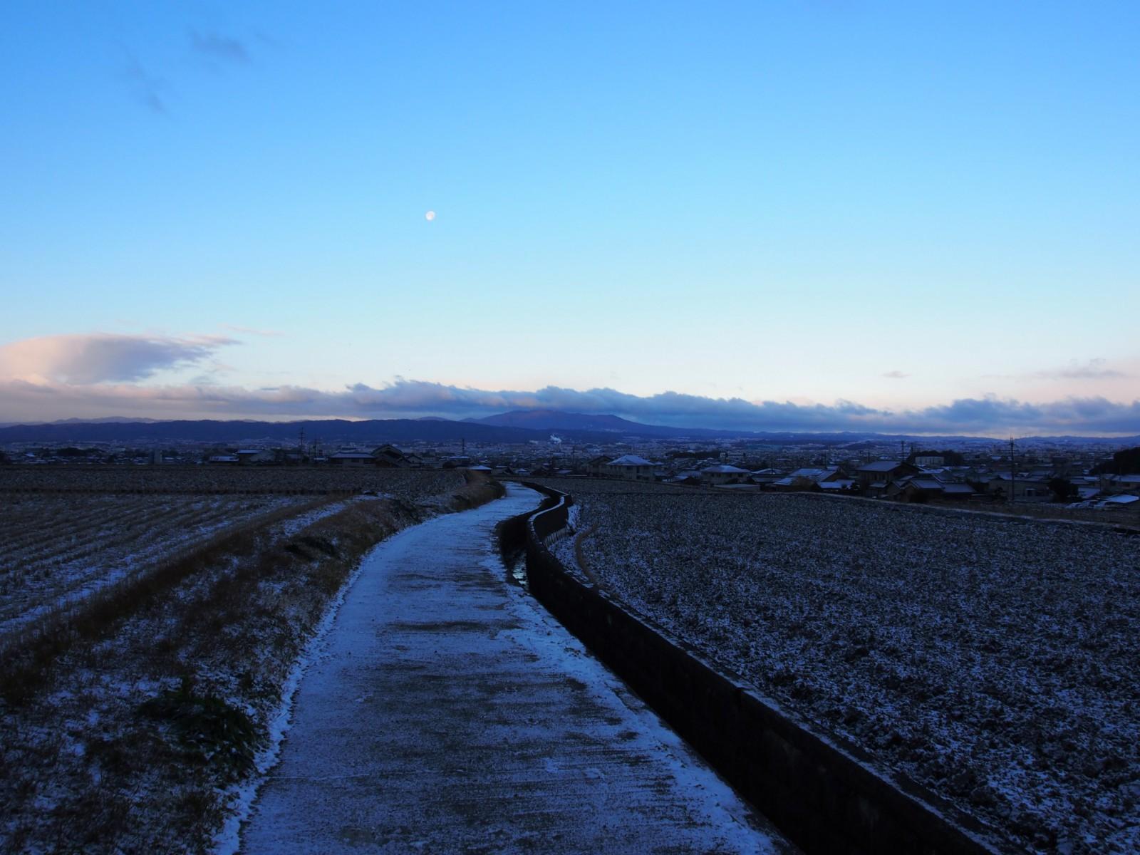 冬の田園風景(山辺の道・北ルート)