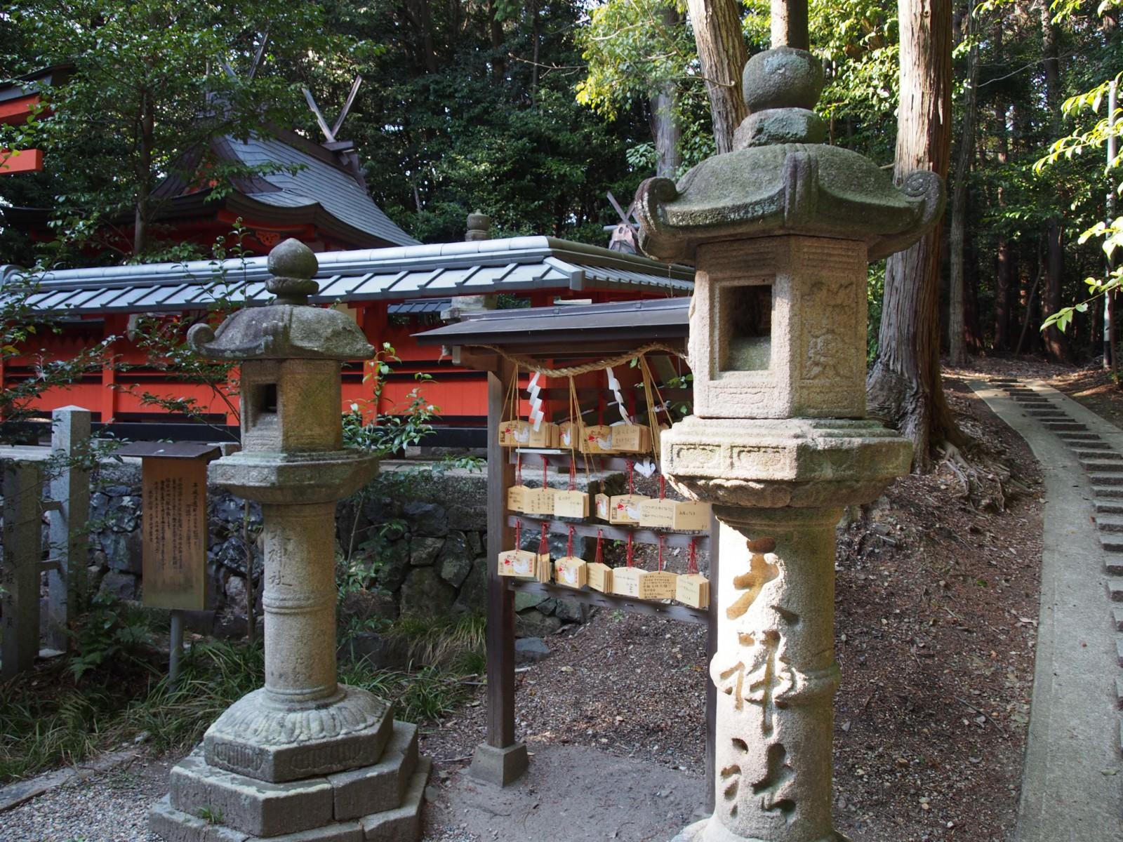 狭岡神社の鳥居