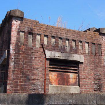 【旧奈良市水道計量器室】少年刑務所跡のそばにあるもう一つの「レンガ造り」