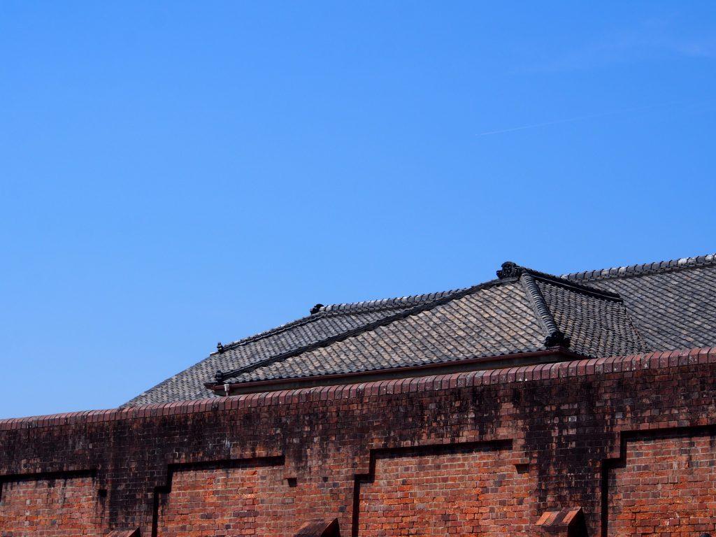 奈良少年刑務所の「塀」