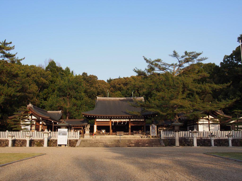 奈良護国神社の社殿