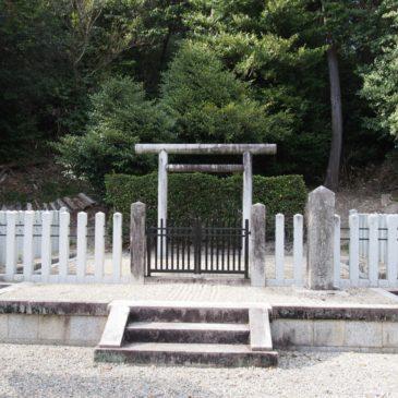 【大山守命墓(那羅山墓)】謀反を起こした皇子の墓所は佐保山にひっそりと佇む