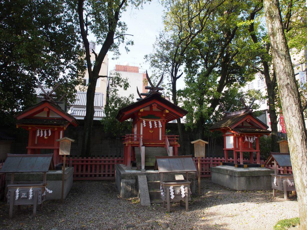 率川神社の摂社・末社(率川阿波神社)