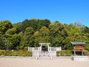 【孝謙天皇陵】奈良市では少し珍しい「西向きの古墳」は二度即位した女帝の御陵