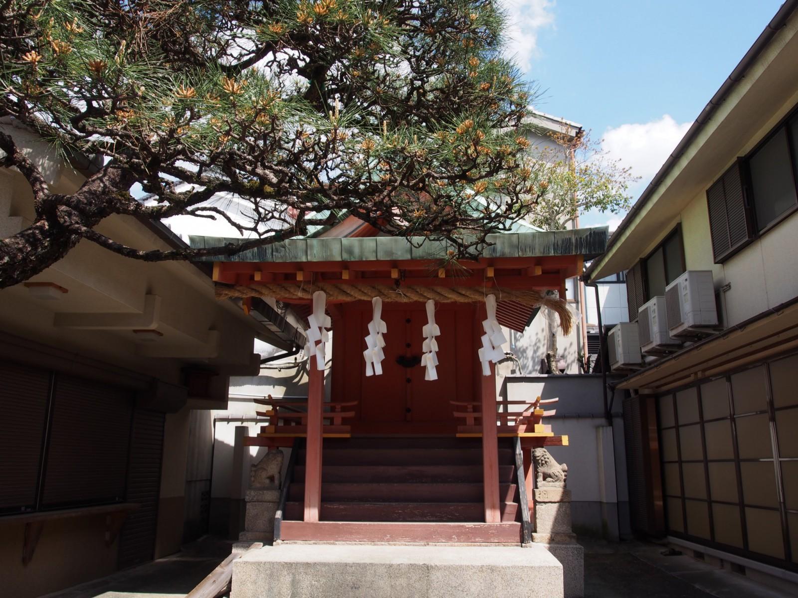 南市恵比須神社本殿