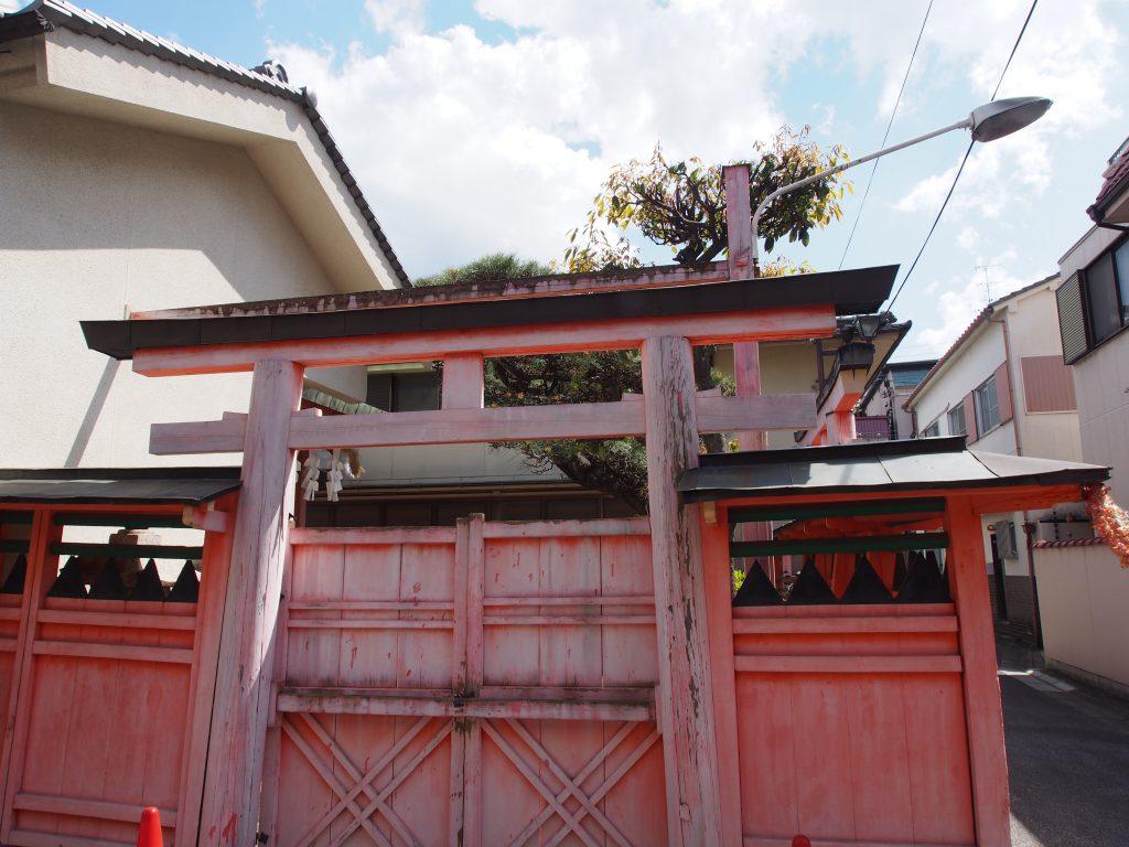 南市恵比須神社の鳥居