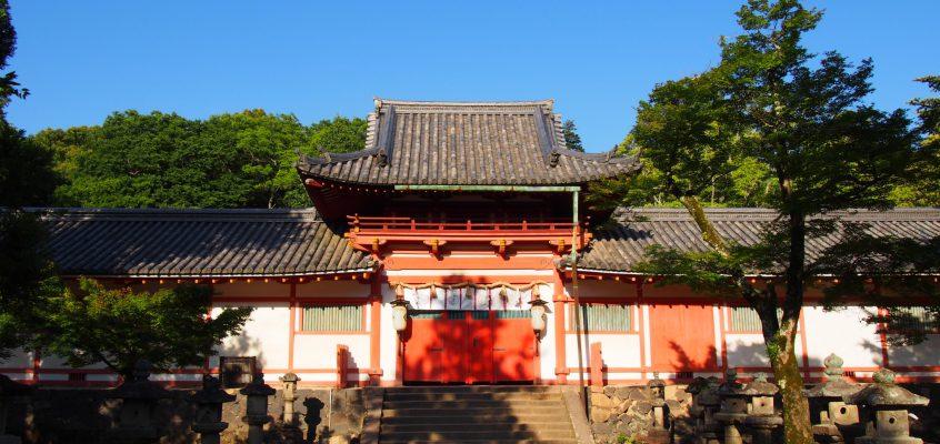 【手向山八幡宮】境内の自然が実に美しいかつての「東大寺鎮守神(八幡宮)」
