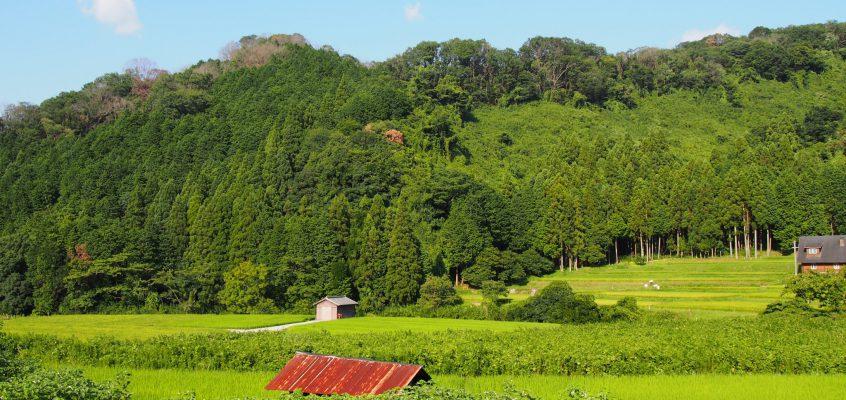 【廣岡(奈良市広岡町)の農村風景】奈良市最北端の地は秘境のような雰囲気を漂わせる