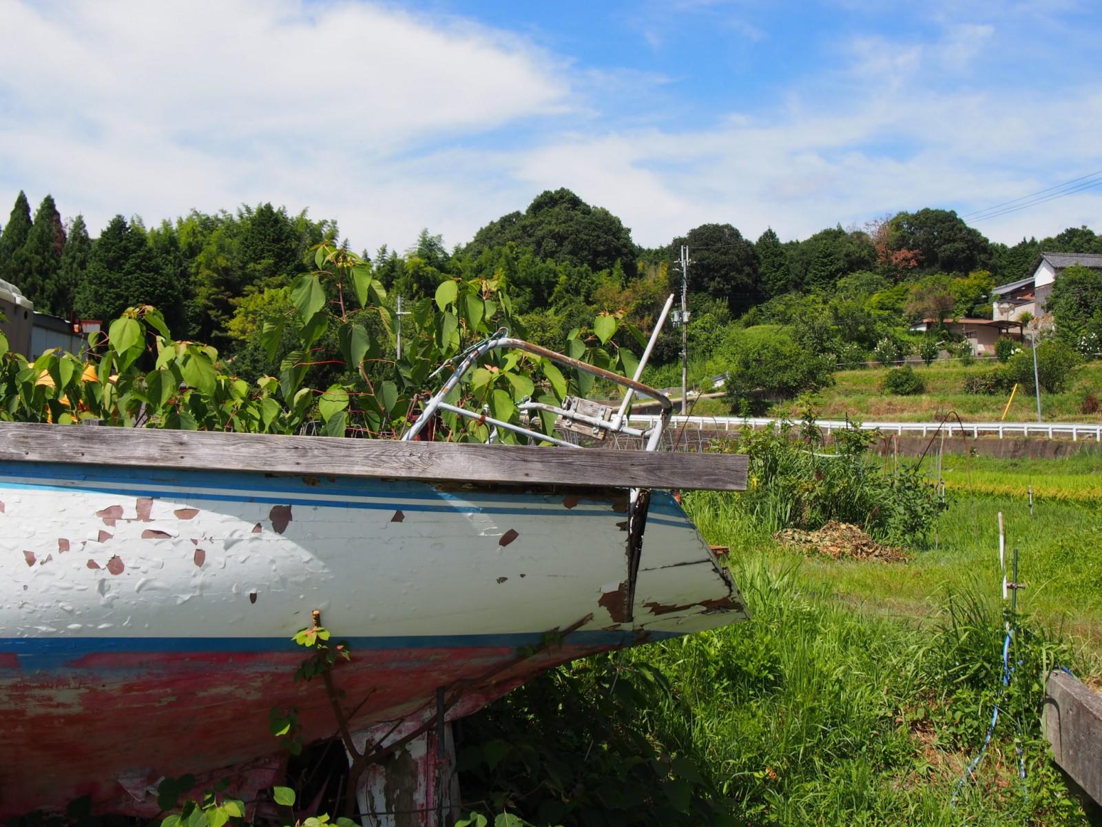 大柳生の里にある「船」