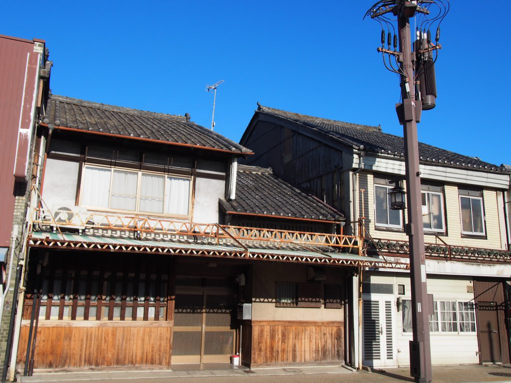 京街道(きたまち)沿いの町並み