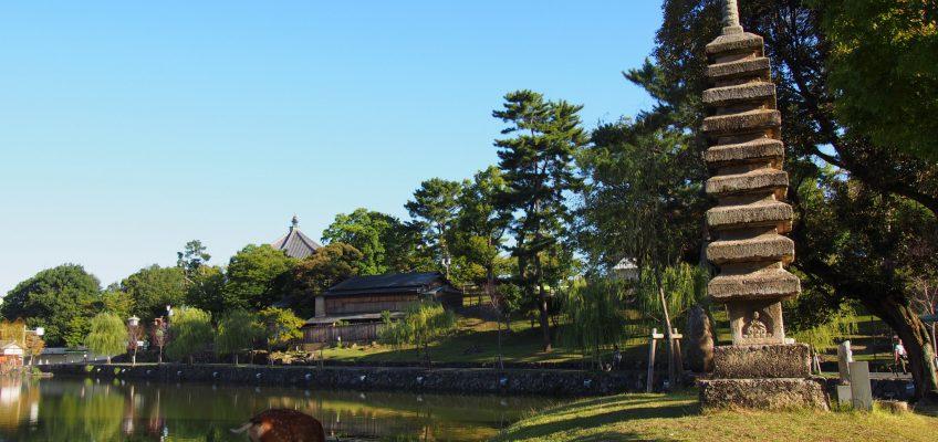 奈良・猿沢池の風景