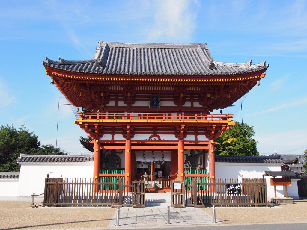 喜光寺の山門