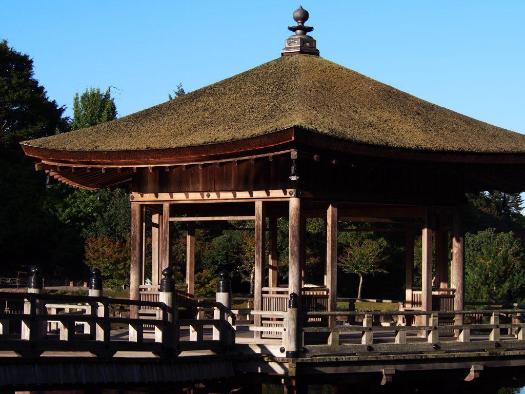 浮見堂の建物(奈良公園)