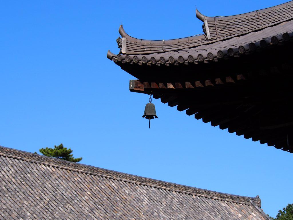 唐招提寺金堂・講堂の屋根瓦