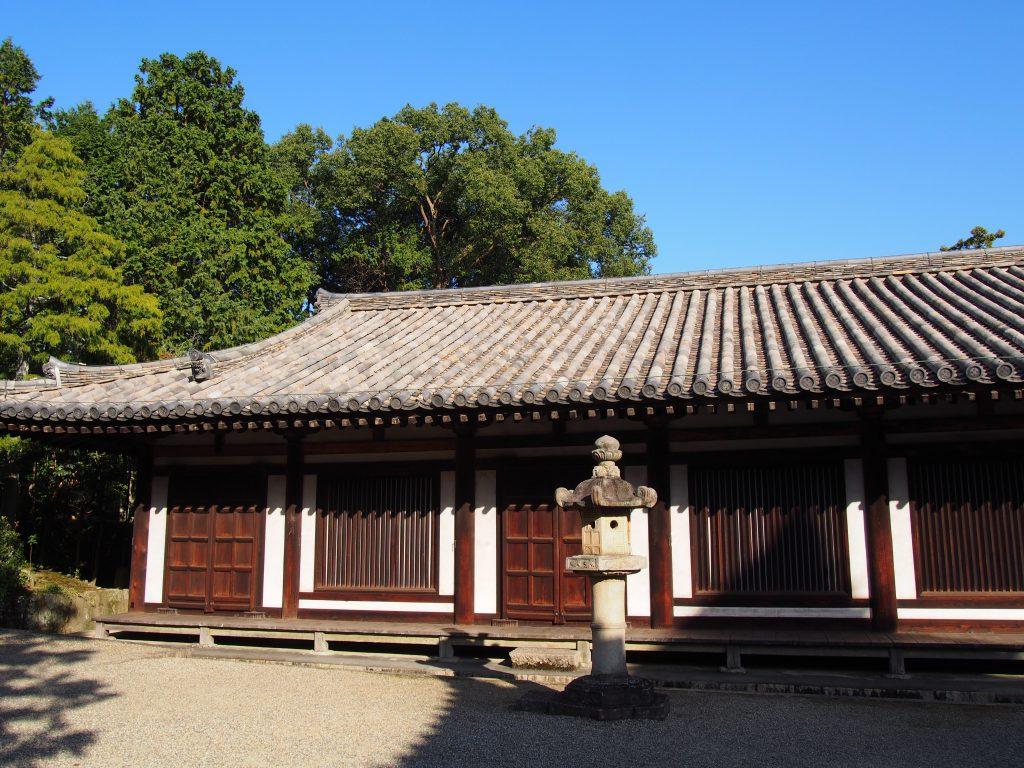 唐招提寺「礼堂」北側
