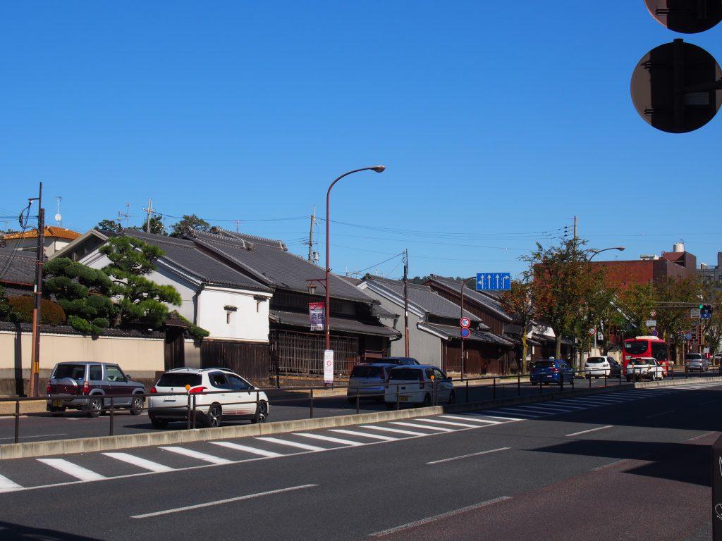 大宮通り(旧近鉄奈良線路面区間)の風景