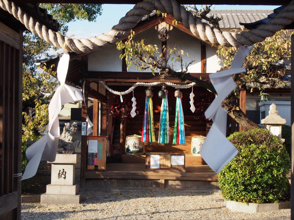 飛鳥神社(京終天神社)拝殿