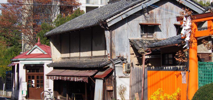 旧鍋屋交番きたまち案内所周辺の町並み
